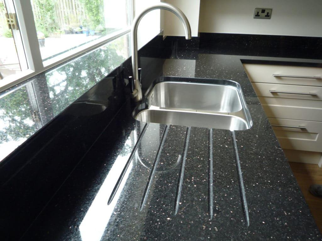 Black Galaxy kitchen top