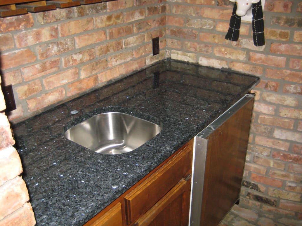 Blue Pearl kitchen