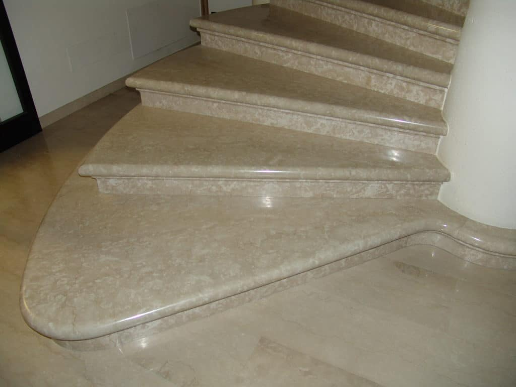Botticino fiorito Stairs