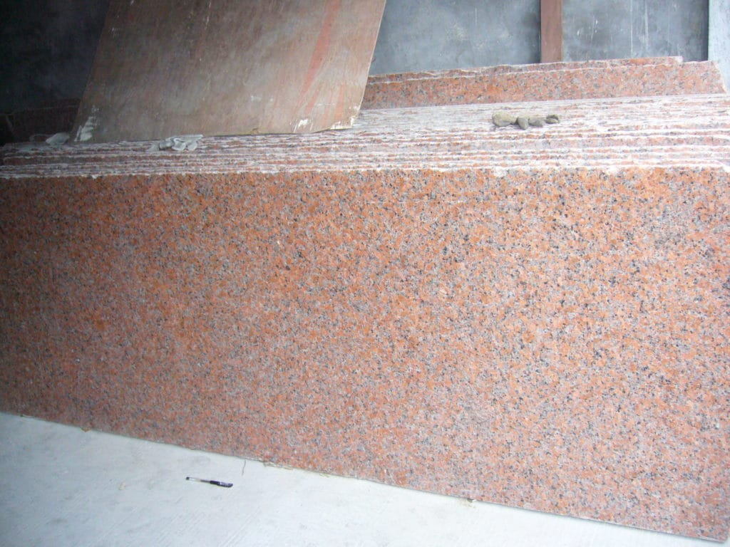 Maple red slabs 2