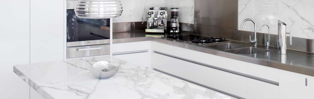 Statuario kitchen