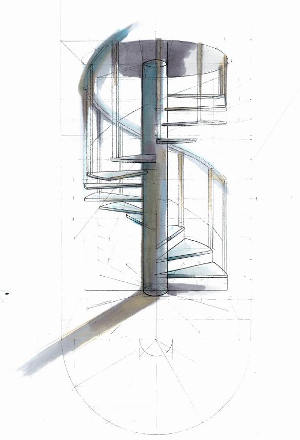 escalier colimacon 2