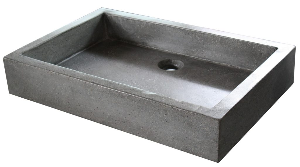 vasque-grise-40x60x10