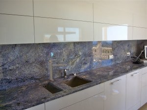 Plan De Travail En Granit Bleu