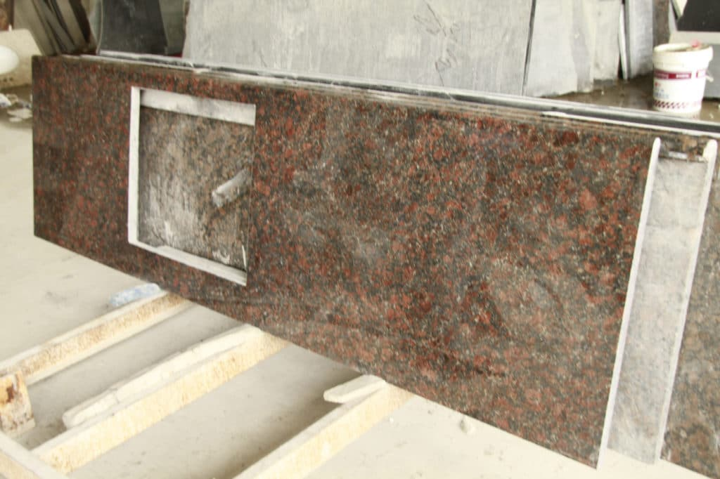 Tan Brown countertop