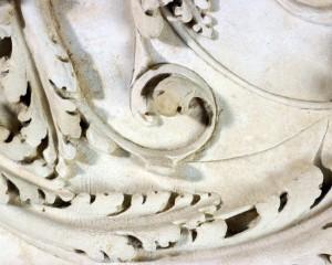 Detail gravure