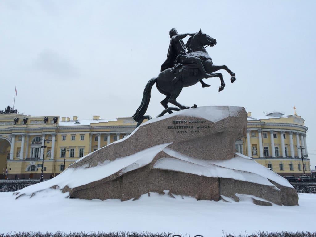 Socle statue