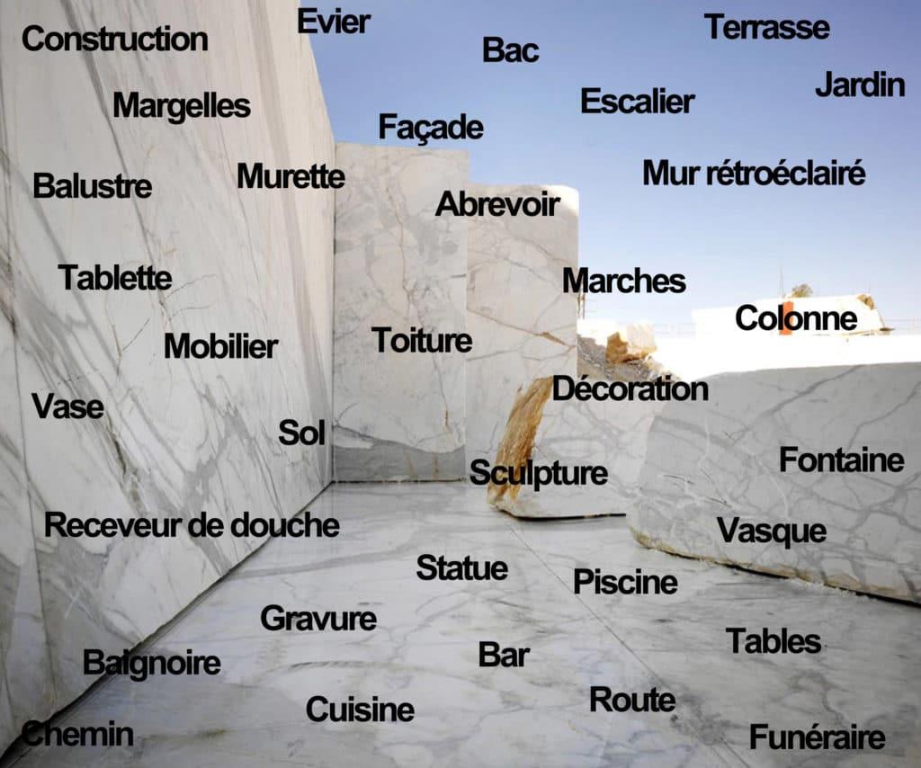 Utilisation pierre