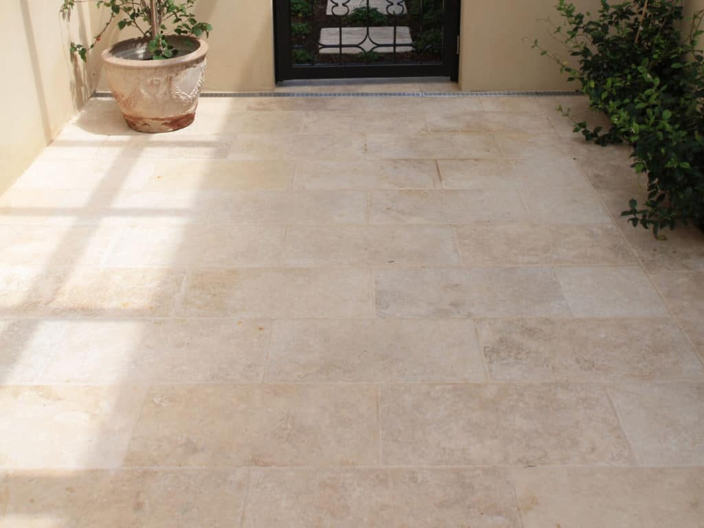 Classic Light Travertine floor