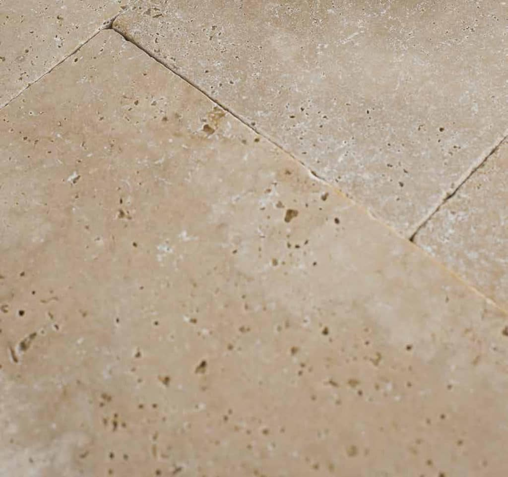 Classic light Travertine close