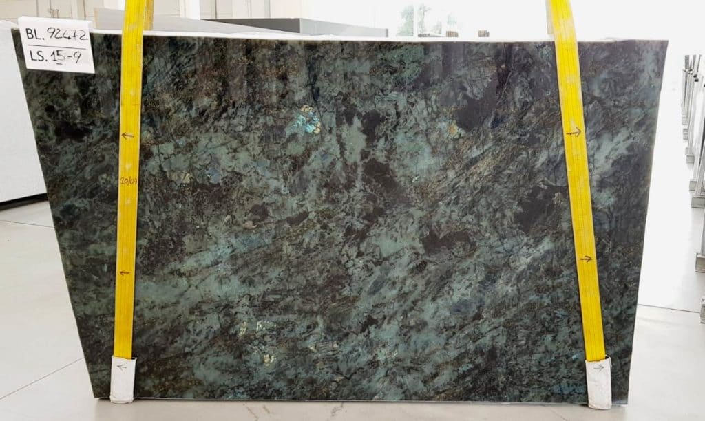 Lemurian Blue Block 92472 Slabs 9-15