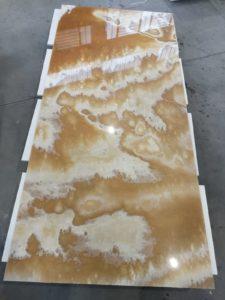 projet en onyx miel - Marbre Import