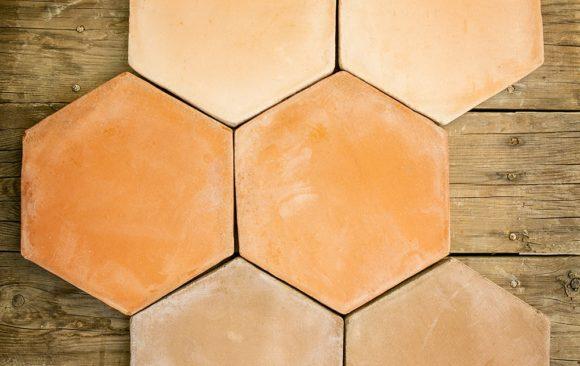 Tomette de Terre Cuite Hexagonale