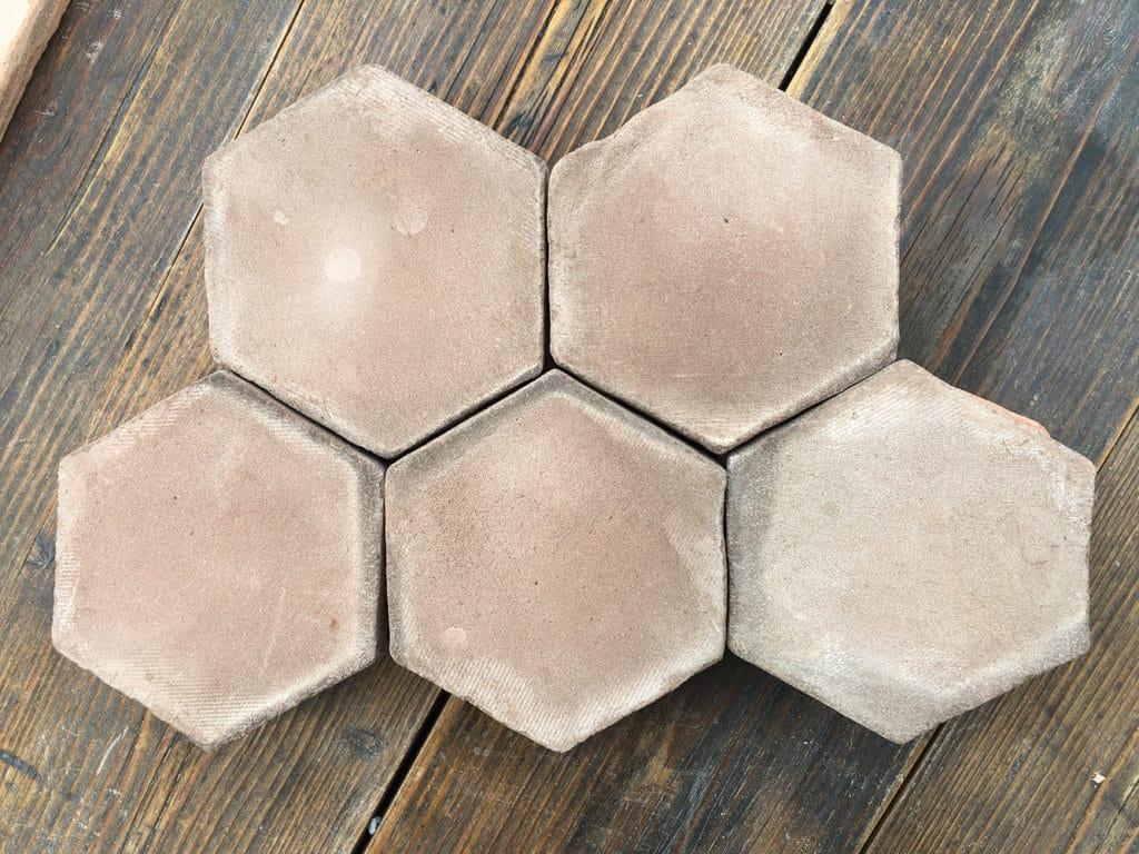 Tomette Hexagonale Marron 2