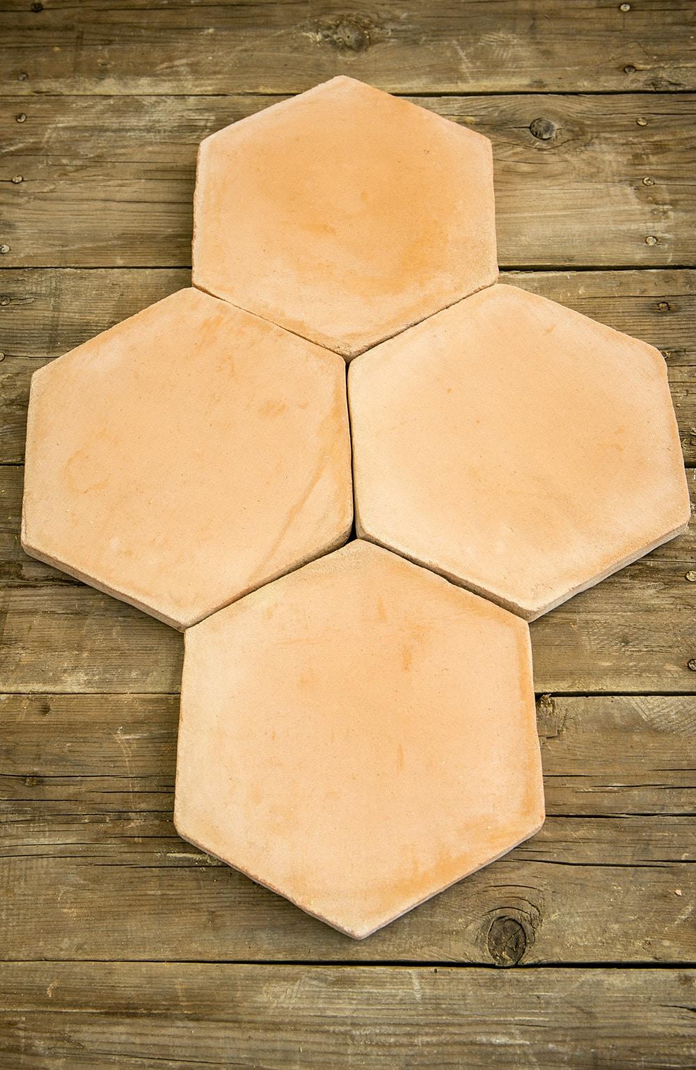 Tomette Hexagonale Nature 2