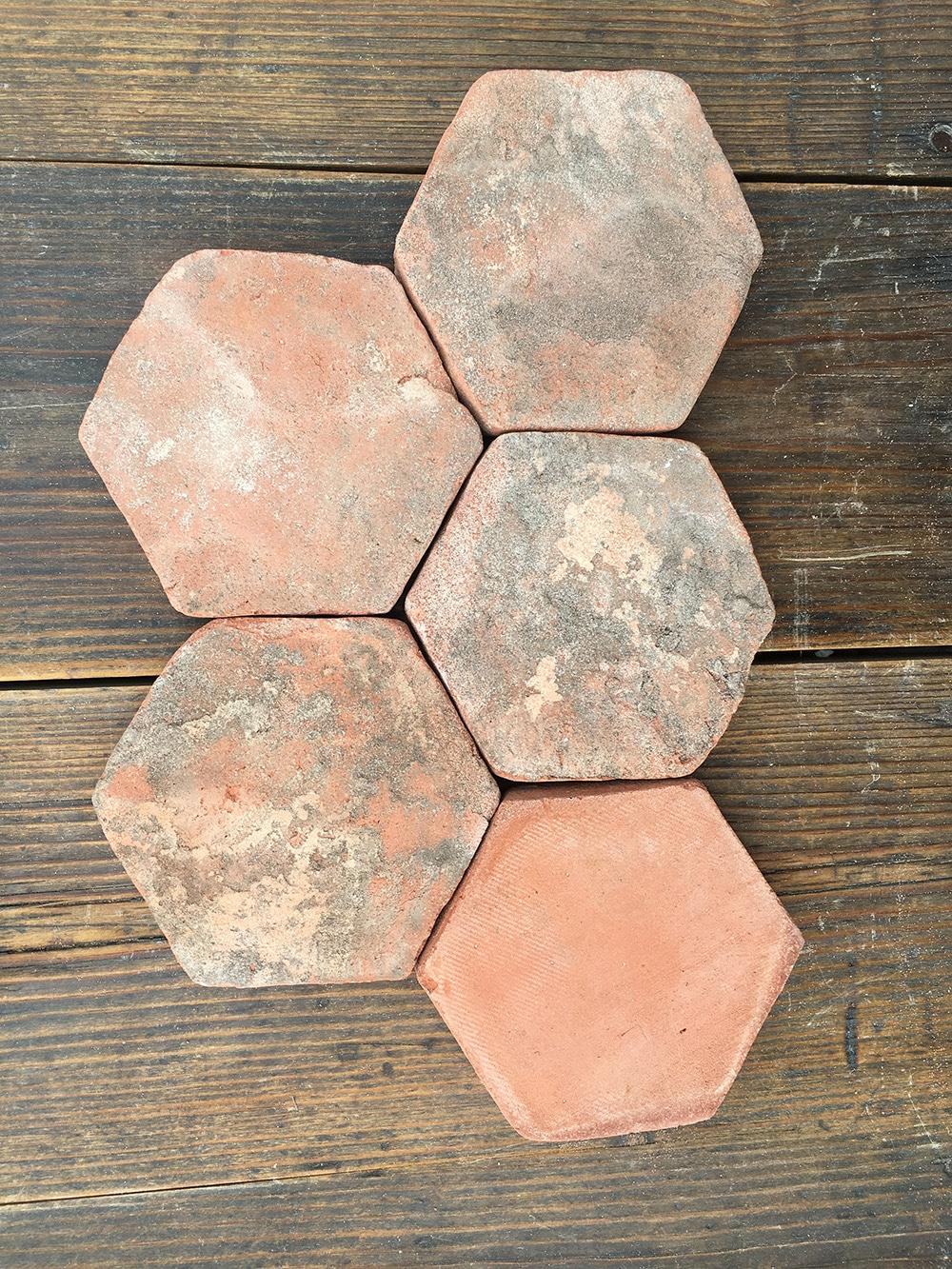 Tomette Hexagonale Vintage
