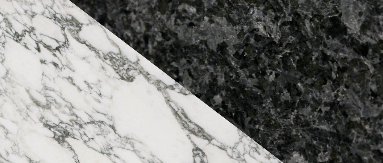 Marbre Import - Comment distinguer le marbre et le granit ? Marbre et granit sont souvent comparés. Mais quelles sont les véritables différences ? Comment les reconnaître ?