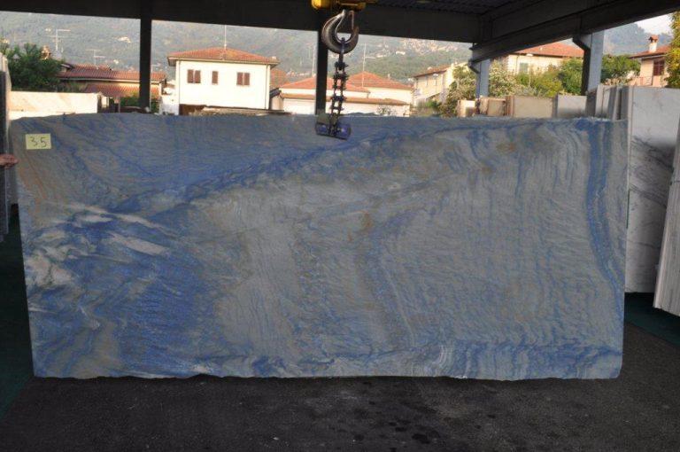 tranche Bleu Macauba