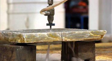 Marbre Import - la découpe du marbre au water jet